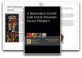 stained glass repair, Repair