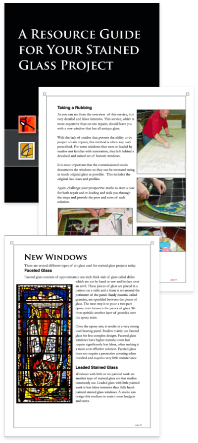 Stained glass care, Stained Glass Window Project Guide
