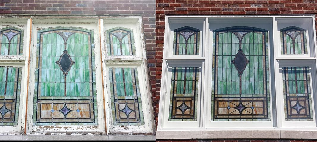 stained glass frames, Frames – New & Repairs