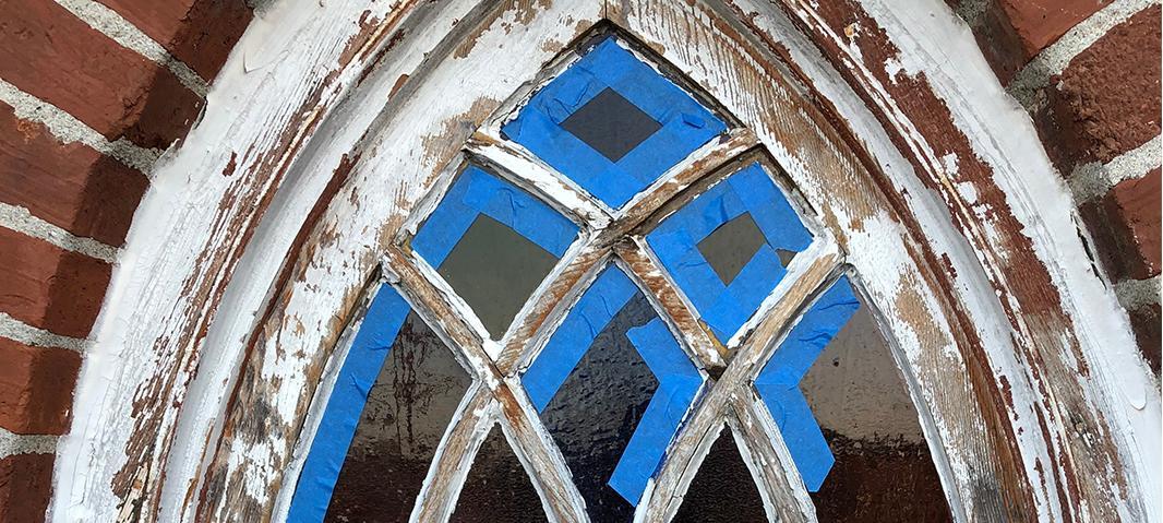 stained glass repair, Repair
