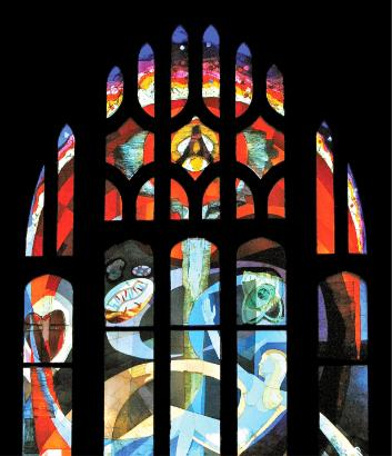 stained glass window, Gallery
