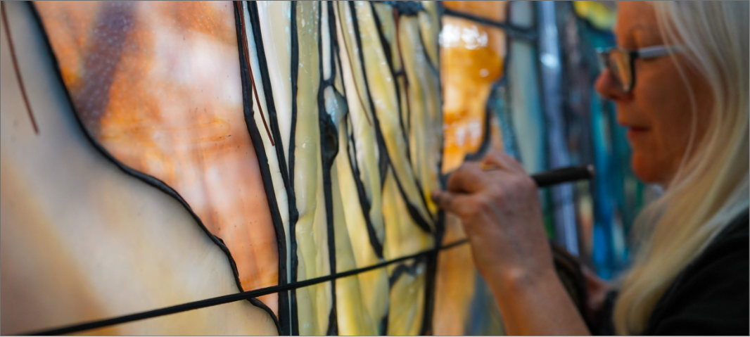 stained glass conservation, Conservation
