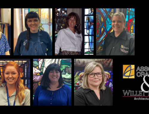 The Women of Stained Glass!