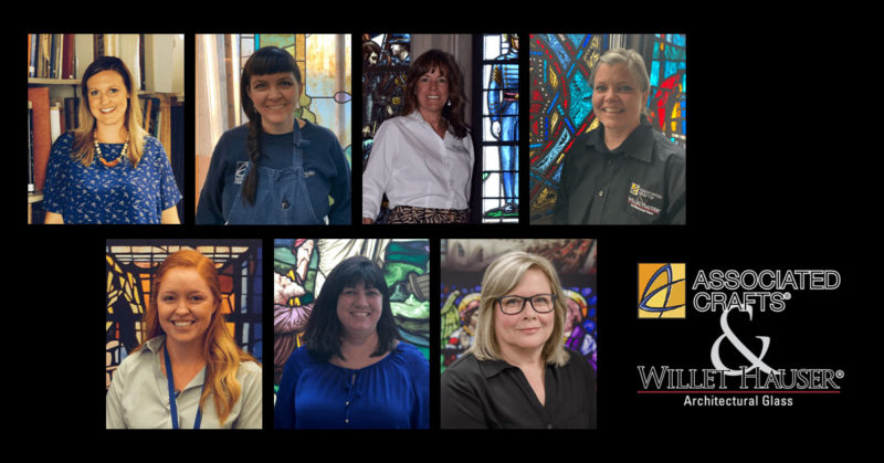, The Women of Stained Glass!