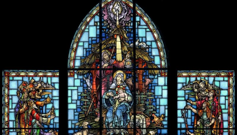 , The Holidays in Stained Glass