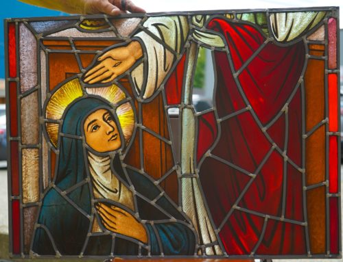 New Year, New Church! Holy Rosary Catholic Church Stained Glass Restoration Project